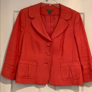 Barely worn, cute peplum jacket from The Limited